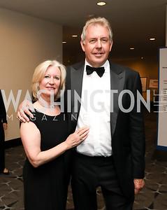 Vanessa Darroch and Britain Amb. Sir Kim Darroch. Photo by Tony Powell. 2019 WHCD Pre-parties. Washington Hilton. April 27, 2019
