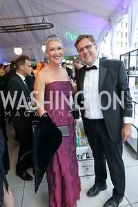 Jennifer Griffin, Matt Kaminski. Photo by Tony Powell. 2019 WHCD Pre-parties. Washington Hilton. April 27, 2019