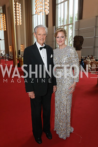 John Pohanka and Anne Kline Pohanka. Photo by Tony Powell. 2019 WNO Spring Gala. Kennedy Center. May 18, 2019