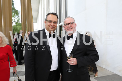 Arvind Manocha and Gideon Malone. Photo by Tony Powell. 2019 WNO Spring Gala. Kennedy Center. May 18, 2019