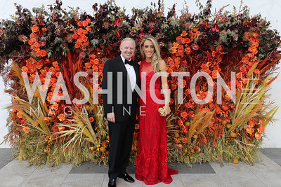 George and Kristen Lund. Photo by Tony Powell. 2019 WNO Spring Gala. Kennedy Center. May 18, 2019