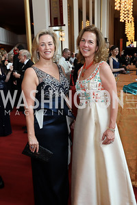 Claire Dwoskin, Kim Nettles. Photo by Tony Powell. 2019 WNO Spring Gala. Kennedy Center. May 18, 2019