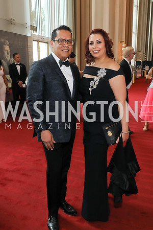 Miguel Toullier, Zuly Sanchez-DeSouza. Photo by Tony Powell. 2019 WNO Spring Gala. Kennedy Center. May 18, 2019