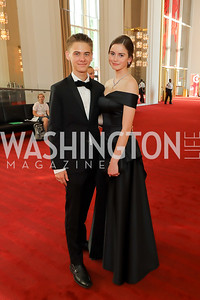 Kane Innis, Amanda Sartori. Photo by Tony Powell. 2019 WNO Spring Gala. Kennedy Center. May 18, 2019