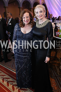 Jenny Bilfield, Rhona Friedman. Photo by Tony Powell. 2019 WPA Annual Gala. March 30, 2019