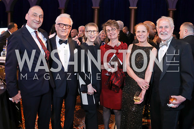 Thomas Krahenbuhl, Vicken Poochikian and Irene Roth, Dorothy Kosinski, Barbara and Robert Liotta. Photo by Tony Powell. 2019 WPA Annual Gala. March 30, 2019