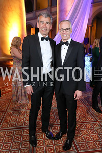 Ace Warner and Peter Shields. Photo by Tony Powell. 2019 WPA Annual Gala. March 30, 2019