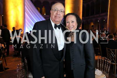 Adam Clayton Powell III, Virginia Johnson. Photo by Tony Powell. 2019 WPA Annual Gala. March 30, 2019