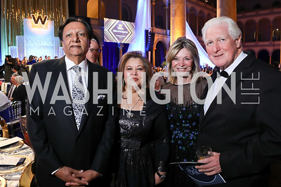 Ray Mahmood, Shaista Mahmood, Kay Kendall, Rep. Jim Moran. Photo by Tony Powell. 2019 WPA Annual Gala. March 30, 2019