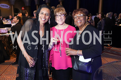 Brenda Parker, Loretta Young, Linda Parker . Photo by Tony Powell. 2019 WPA Annual Gala. March 30, 2019