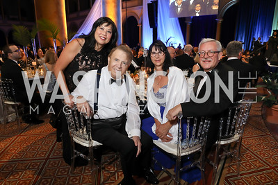 Tina and Gary Mather, Anita Dahinden and Switzerland Amb. Martin Dahinden. Photo by Tony Powell. 2019 WPA Annual Gala. March 30, 2019