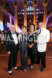 Tom Gallagher and Barbara Myers, Lyn Chasen and Barry Chasen. Photo by Tony Powell. 2019 WPA Annual Gala. March 30, 2019