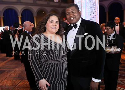 Meredith Weaver, John Mason. Photo by Tony Powell. 2019 WPA Annual Gala. March 30, 2019