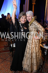Annie Totah, Jan DuPlain. Photo by Tony Powell. 2019 WPA Annual Gala. March 30, 2019