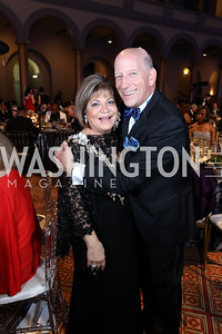 Annie Totah, Jay Hammer. Photo by Tony Powell. 2019 WPA Annual Gala. March 30, 2019