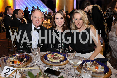 George Lund, Aisha Al Khalifa, Kristen Lund. Photo by Tony Powell. 2019 WPA Annual Gala. March 30, 2019