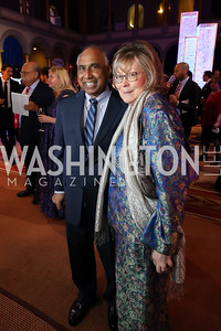 Frank Islam and Debbie Driesman. Photo by Tony Powell. 2019 WPA Annual Gala. March 30, 2019