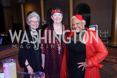 Lee McBride, Jannes Gibson, Dr. Diane McRae. Photo by Tony Powell. 2019 WPA Annual Gala. March 30, 2019