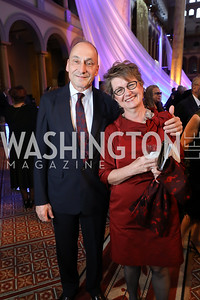 Thomas Krahenbuhl and Dorothy Kosinski. Photo by Tony Powell. 2019 WPA Annual Gala. March 30, 2019