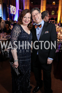 Jenny Bilfield, Joel Friedman. Photo by Tony Powell. 2019 WPA Annual Gala. March 30, 2019