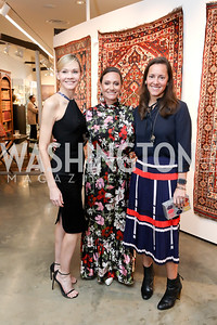 Dr. Jill Bruno, Conner Herman, Sarah Cannova. Photo by Tony Powell. 2019 Washington Winter Show. Katzen Center. January 10, 2019