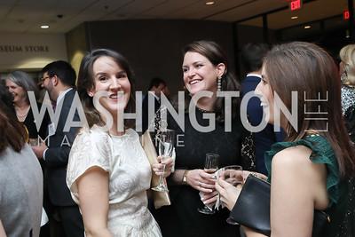 Kate Myers, Bridget Gummere, Brigid Myler. Photo by Tony Powell. 2019 Washington Winter Show. Katzen Center. January 10, 2019