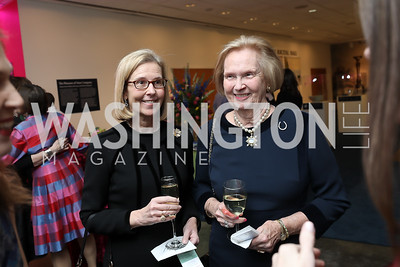 Helen Bragg Cleary, Helen Curtin. Photo by Tony Powell. 2019 Washington Winter Show. Katzen Center. January 10, 2019