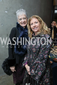 Kate Markert, Susan Bollendrorf. Photo by Tony Powell. 2019 Washington Winter Show. Katzen Center. January 10, 2019