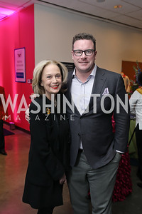 Carol Joynt, Chappall Gage. Photo by Tony Powell. 2019 Washington Winter Show. Katzen Center. January 10, 2019