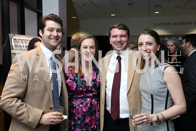 Mitchell Sams, Meghan Carter, Dan Gummere, Ellie Rogers. Photo by Tony Powell. 2019 Washington Winter Show. Katzen Center. January 10, 2019