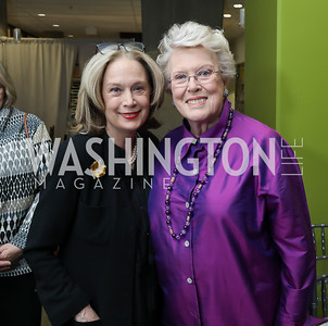 Carol Joynt, Ellen Charles. Photo by Tony Powell. 2019 Washington Winter Show. Katzen Center. January 10, 2019