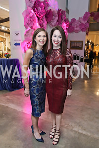 Show Chairs Johanna Howe and Marilouise Avery. Photo by Tony Powell. 2019 Washington Winter Show. Katzen Center. January 10, 2019