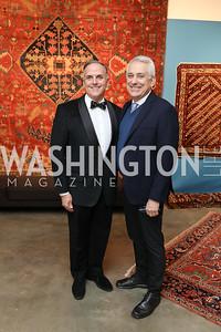 Ed McAllister and Joseph Carpenter. Photo by Tony Powell. 2019 Washington Winter Show. Katzen Center. January 10, 2019