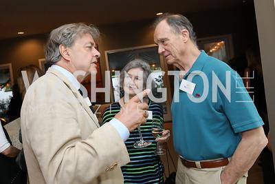 Andrew Cockburn, Susan Raines, Jim Duffy. Photo by Tony Powell. 2019 WildAid Gathering. May 2, 2019