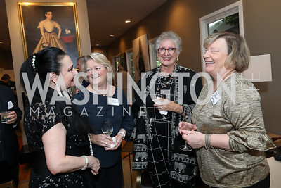Rhoda Septilici, Kathleen Bergen, Countess Suzanne Tolstoy, Sharyn Runyon. Photo by Tony Powell. 2019 WildAid Gathering. May 2, 2019