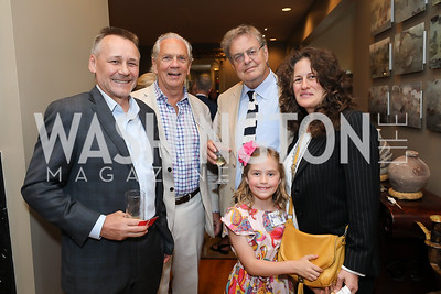 WildAid CEO Peter Knights, John Jeppson, Andrew Cockburn, Helena Cohen Barrett, Julia Cohen. Photo by Tony Powell. 2019 WildAid Gathering. May 2, 2019