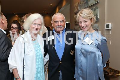 Caroline Croft, Richard Rymland, Marian Lemle. Photo by Tony Powell. 2019 WildAid Gathering. May 2, 2019