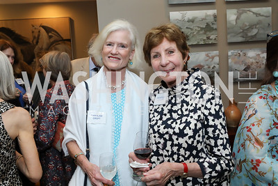 Caroline Croft, Jacqueline Quillen. Photo by Tony Powell. 2019 WildAid Gathering. May 2, 2019