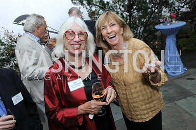 Ann Crittenden, Wendy Benchley. Photo by Tony Powell. 2019 WildAid Gathering. May 2, 2019