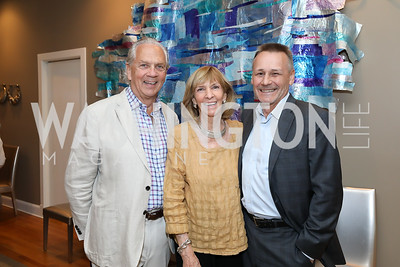 John Jeppson and Wendy Benchley, WildAid CEO Peter Knights. Photo by Tony Powell. 2019 WildAid Gathering. May 2, 2019