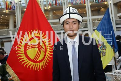"Kyrgyz Republic's Timur Kydyrmyshev. Photo by Tony Powell. 2019 ""Winternational."" Reagan Building. December 5, 2019"