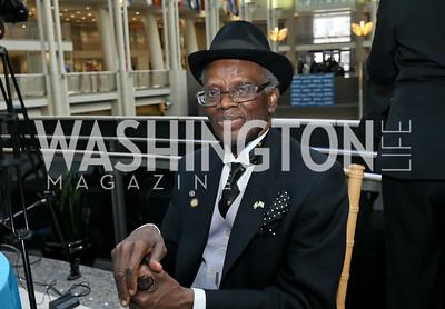 "Nigeria Amb. Sylvanus Nsofor. Photo by Tony Powell. 2019 ""Winternational."" Reagan Building. December 5, 2019"