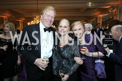 Bob Ryan, Judy Esfandiary, Olga Ryan. Photo by Tony Powell. 2019 Young Concert Artists Gala. NMWA. April 23, 2019