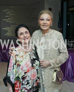 Susan Wadsworth, Empress Farah Pahlavi. Photo by Tony Powell. 2019 Young Concert Artists Gala. NMWA. April 23, 2019