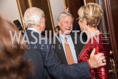 Rep. Fred Upton,  6th Annual Trish Vradenburg Dinner, Celebrating Be Brain Powerful, at Union Station, October 23, 2019. Photo by Ben Droz.