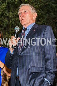 John F. Lehman, Photo by Alfredo Flores. A Celebration for Grace. Residence of Monaco. October 29, 2019.