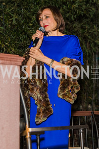 Ambassador of Monaco Maguy Maccario Doyle, Photo by Alfredo Flores. A Celebration for Grace. Residence of Monaco. October 29, 2019.