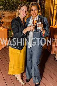 Claire Delahaye-Rhye, Evelyn Bynum. Photo by Alfredo Flores. A Celebration for Grace. Residence of Monaco. October 29, 2019.