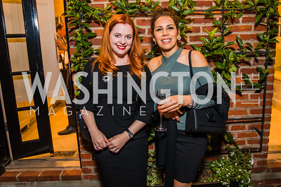 Brisa Trinchero, Maya Roshan.  Photo by Alfredo Flores. A Celebration for Grace. Residence of Monaco. October 29, 2019.