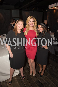 Carrie Simms, Martha Boneta, Merilyn Carson, AIPAC Dinner, Advanced Security Training Institute, Hosted by Martha Boneta, March 24, 2019, Photo by Ben Droz.